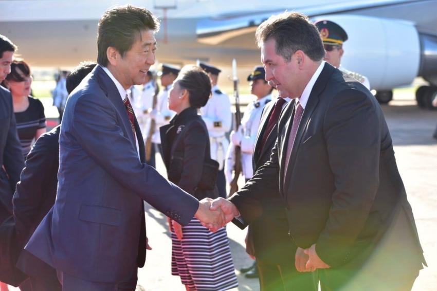 Delegación de Japón en Aeropuerto Internacional Silvio Pettirossi