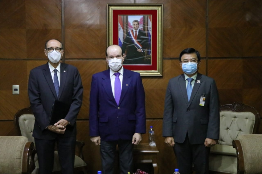 Presidente de DINAC se reúne con altas autoridades del Estado.