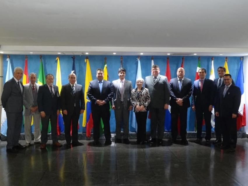 Visita protocolar al Director de la Oficina Regional SAM Fabio Rabbani, en la Ciudad de Lima, Perú