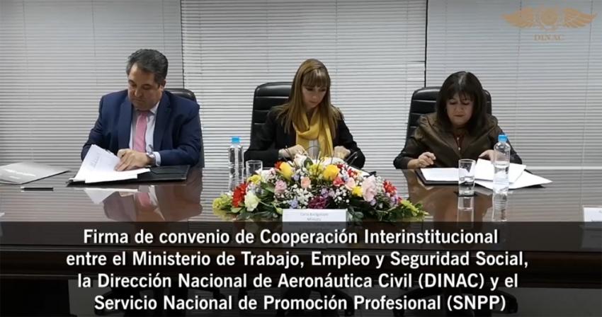 Cooperación Interinstitucional entre el SNPP y DINAC
