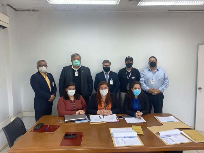 Proceso de Ensayo de Certificación de Aeródromo del Aeropuerto Internacional Prof. Dr. Augusto Fuster de Pedro Juan Caballero.
