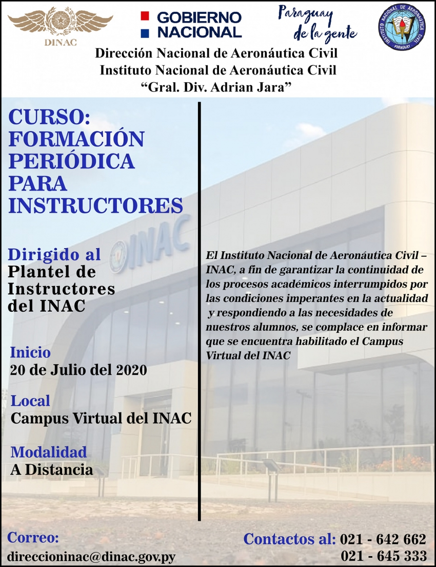 Campus Virtual del INAC