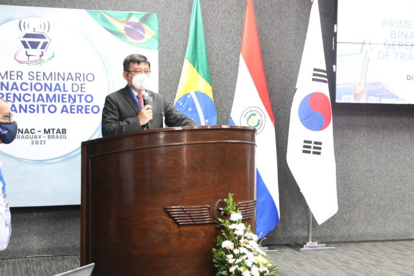 Paraguay: sede del Primer Seminario de Gerenciamiento de Tránsito Aéreo.