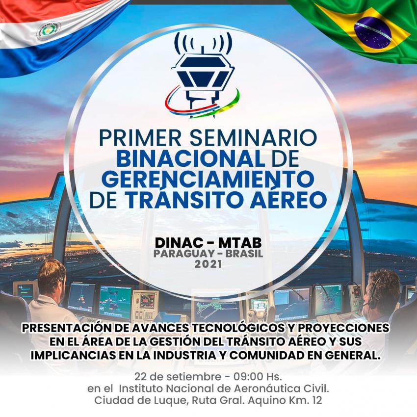 Primer Seminario Binacional de Gerenciamiento de Tránsito Aéreo