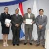 Ceremonia de egreso del Curso Formación de Instructores – CFI, metodología TRAINAIR PLUS, certificado por la OACI