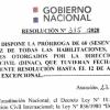 Resolución DINAC N° 315/2020 - Prorroga de 60 días corridos de habilitaciones, certificados, autorizaciones.